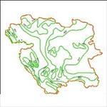 دانلود-نقشه-ی-خطوط-همبارش-استان-کردستان